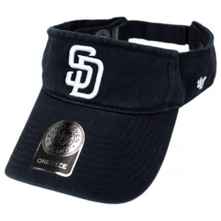 San Diego Padres MLB Clean Up Adjustable Visor alternate view 1