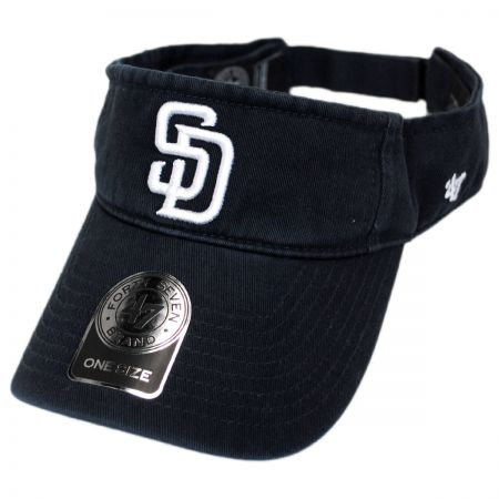 47 Brand San Diego Padres MLB Clean Up Adjustable Visor