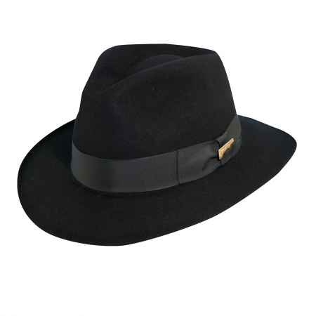 Officially Licensed Fur Felt Fedora Hat