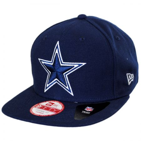 New Era Dallas Cowboys NFL Block Back 9Fifty Snapback Baseball Cap