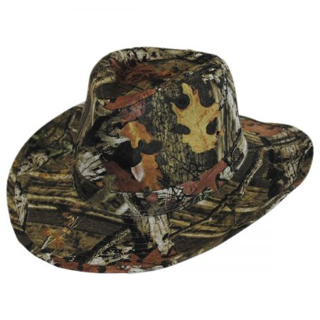 Mossy Oak Infinity Break Up Camo Cotton Outback Hat