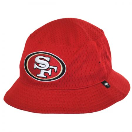47 Brand San Francisco 49ers NFL Backboard Bucket Hat