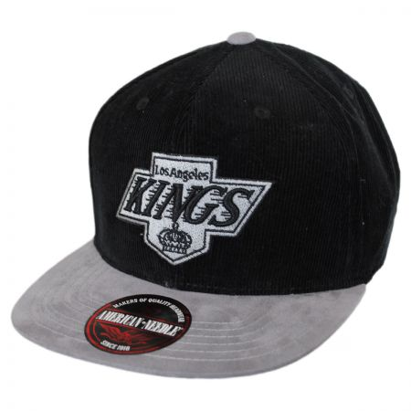 Los Angeles Kings NHL Chapparel Micro Strapback Baseball Cap Dad Hat