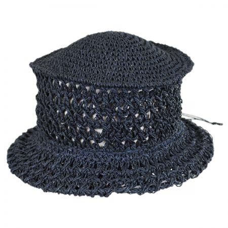 Karen Keith Veggie Fiber Straw Topper Hat