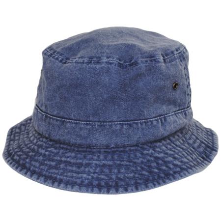 VHS Cotton Bucket Hat - Navy alternate view 4