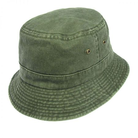 Village Hat Shop VHS Cotton Bucket Hat - Olive
