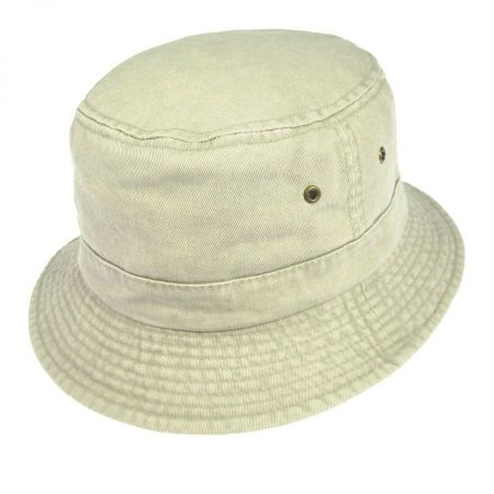 Village Hat Shop VHS Cotton Bucket Hat - Putty