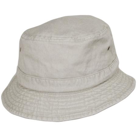 VHS Cotton Bucket Hat - Putty alternate view 4