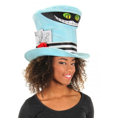 Elope Cheshire Cat Mad Hatter Top Hat