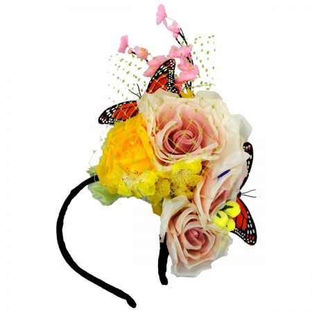 Arturo Rios Collection Flora Fascinator Headband