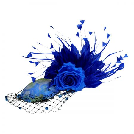 Arturo Rios Collection Royal Fascinator Hat