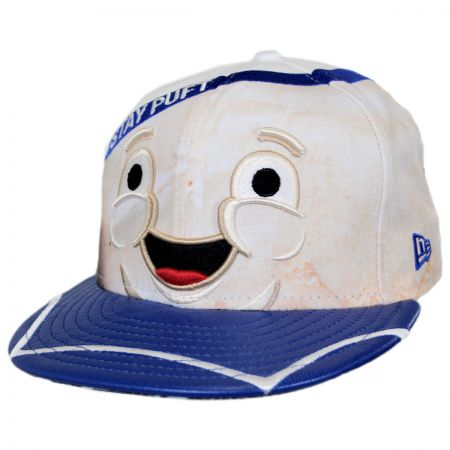New Era Ghostbusters Stay Puft 59Fifty Fitted Baseball Cap 4025f256c5a