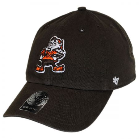 47 Brand Cleveland Browns NFL Clean Up Strapback Baseball Cap