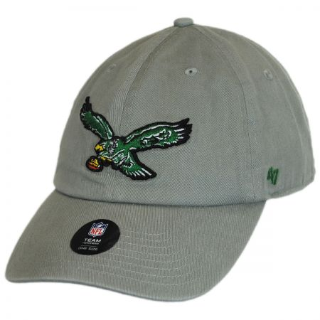 47 Brand Philadelphia Eagles NFL Clean Up Strapback Baseball Cap