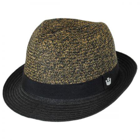 Goorin Bros Sand Cassel Kids' Thrasher Toyo Straw Fedora Hat