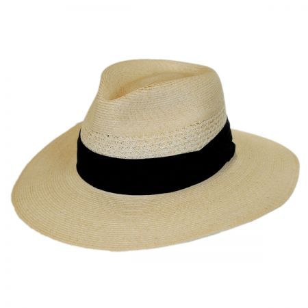 Range Hemp Straw Wide Brim Fedora Hat alternate view 1