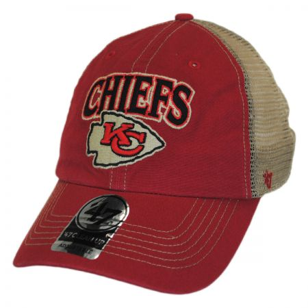 47 Brand Kansas City Chiefs NFL Tuscaloosa Mesh Clean Up Baseball Cap