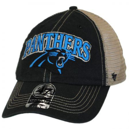 47 Brand Carolina Panthers NFL Tuscaloosa Mesh Clean Up Baseball Cap