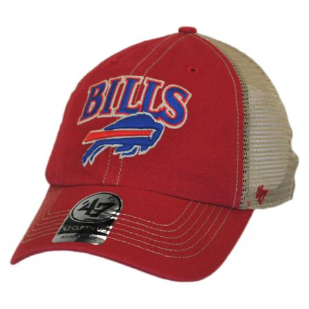47 Brand Buffalo Bills NFL Tuscaloosa Mesh Fitted Baseball Cap
