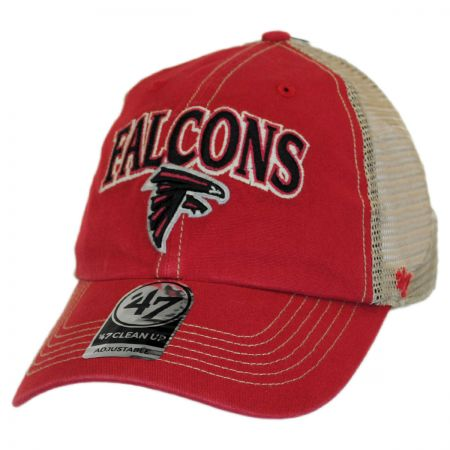 47 Brand Atlanta Falcons NFL Tuscaloosa Mesh Clean Up Baseball Cap