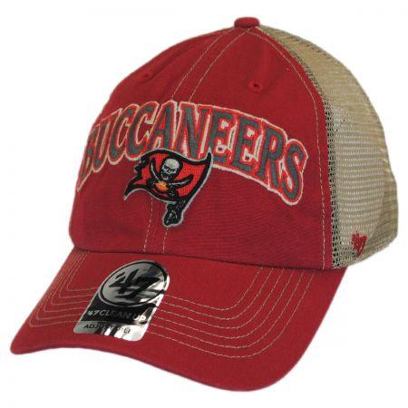 47 Brand Tampa Bay Buccaneers NFL Tuscaloosa Mesh Clean Up Baseball Cap