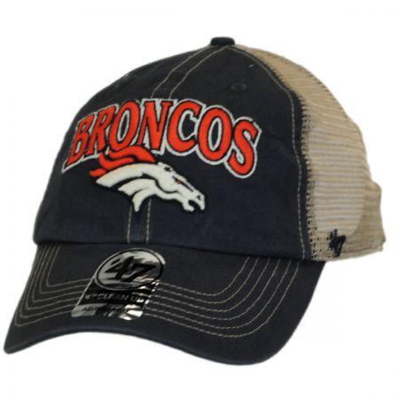 47 Brand Denver Broncos NFL Tuscaloosa Mesh Clean Up Baseball Cap