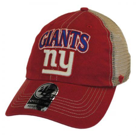 47 Brand New York Giants NFL Tuscaloosa Mesh Clean Up Baseball Cap