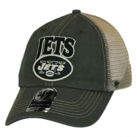 47 Brand New York Jets NFL Tuscaloosa Mesh Fitted Baseball Cap