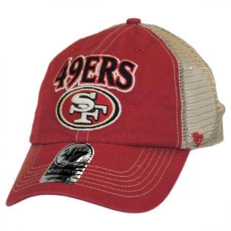 47 Brand San Francisco 49ers NFL Tuscaloosa Mesh Clean Up Baseball Cap