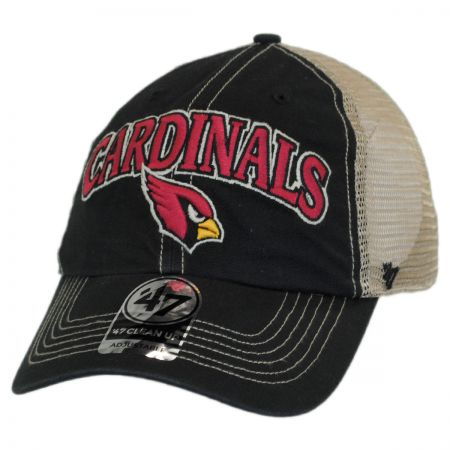 47 Brand Arizona Cardinals NFL Tuscaloosa Mesh Clean Up Baseball Cap