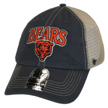 47 Brand Chicago Bears NFL Tuscaloosa Mesh Clean Up Baseball Cap