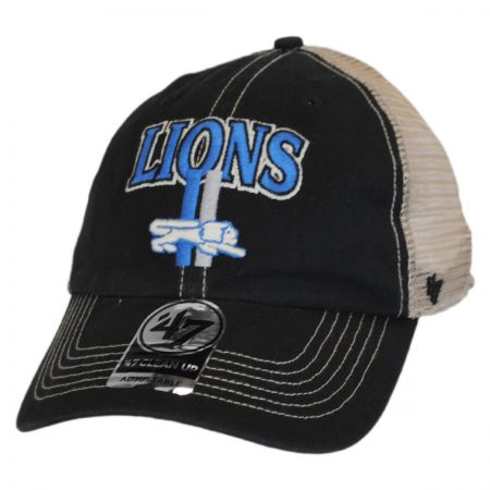 47 Brand Detroit Lions NFL Tuscaloosa Mesh Fitted Baseball Cap
