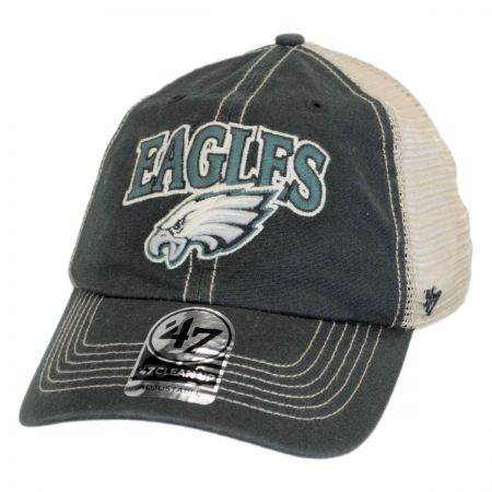 47 Brand Philadelphia Eagles NFL Tuscaloosa Mesh Clean Up Baseball Cap