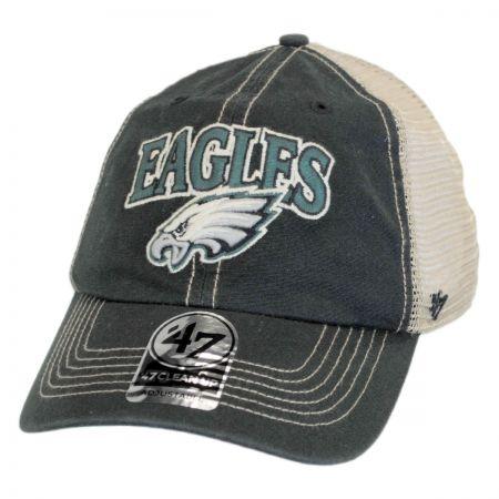 47 Brand Philadelphia Eagles NFL Tuscaloosa Mesh Fitted Baseball Cap