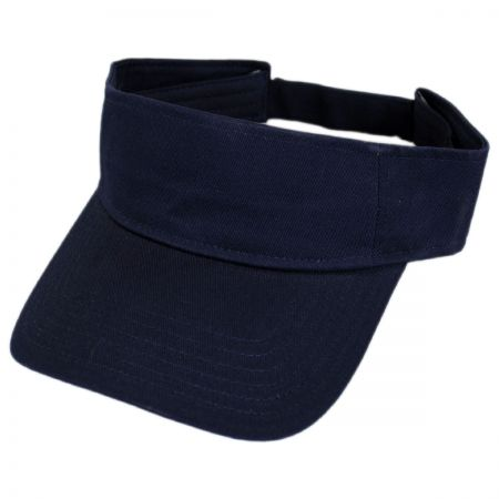 Otto Sport Visor Cotton Twill Cap