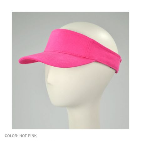 Cotton Twill Adjustable Sport Visor