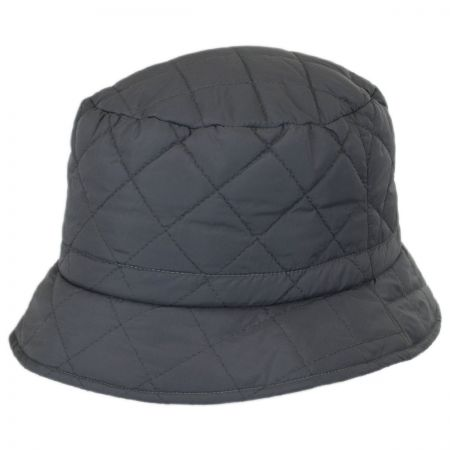 Scala Quilted Rain Bucket Hat