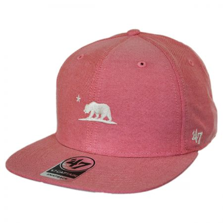 47 Brand Mini Cali Bear Chambray Snapback Baseball Cap