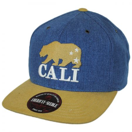 American Needle Timber Cali Bear Strapback Baseball Cap