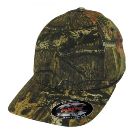 Mossy Oak Break-Up Infinity Camo MidPro FlexFit Fitted Baseball Cap