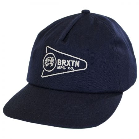 Brixton Hats Fury Soft Low Profile Snapback Baseball Cap
