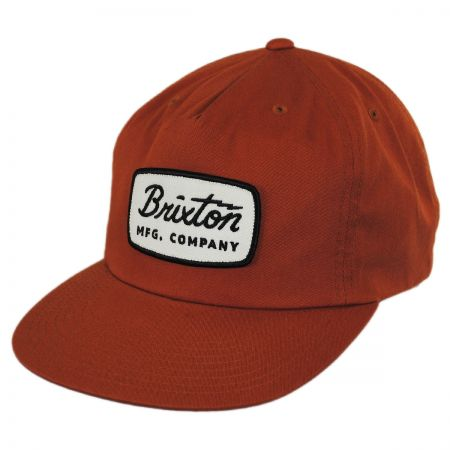 Brixton Hats Jolt High Profile Snapback Baseball Cap