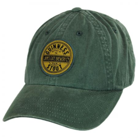 American Needle Guinness Stout Raglan Strapback Baseball Cap
