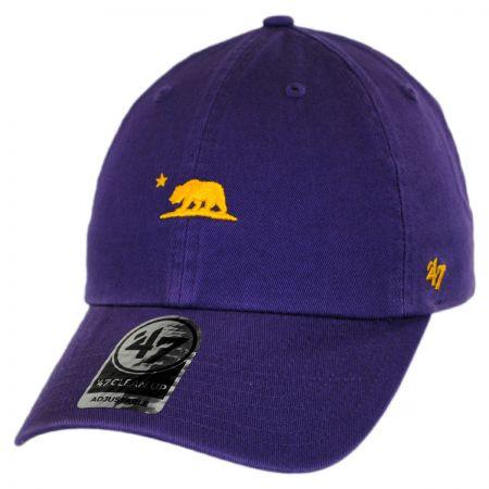 47 Brand Mini Cali Bear Clean Up Strapback Baseball Cap