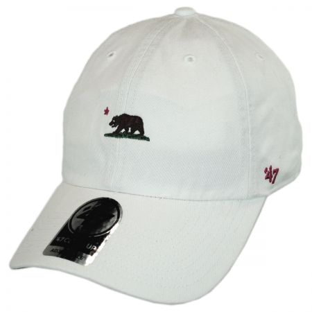 47 Brand Mini Cali Bear Clean Up Strapback Baseball Cap