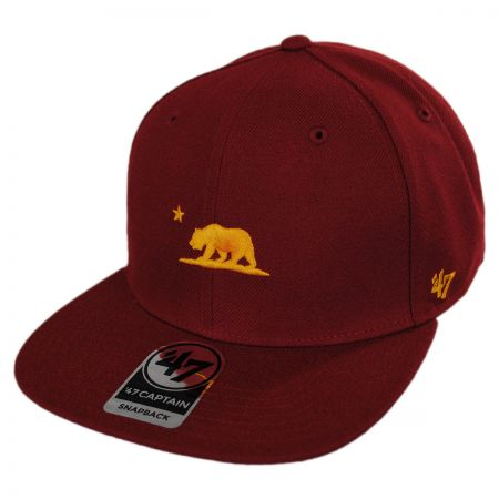 Mini Cali Bear Snapback Baseball Cap