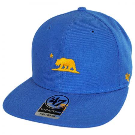 Mini Cali Bear Snapback Baseball Cap alternate view 5