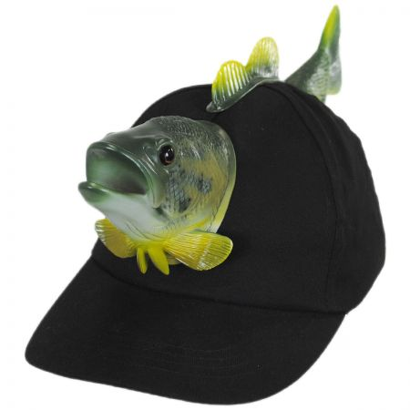 3D Fish Snapback Baseball Cap alternate view 1