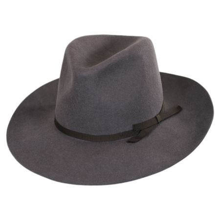 Brixton Hats York Wool Felt Fedora Hat