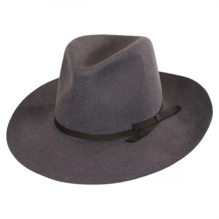 Brixton Hats York Wool Felt Fedora Hat